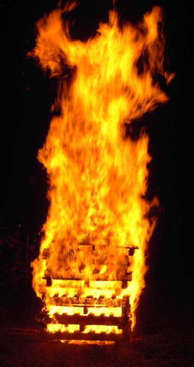 Das große Abschlußfeuer.
