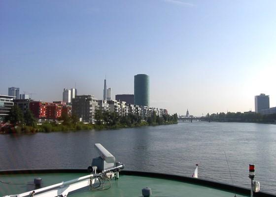 ... das Ziel den Frankfurter Kaiserdom