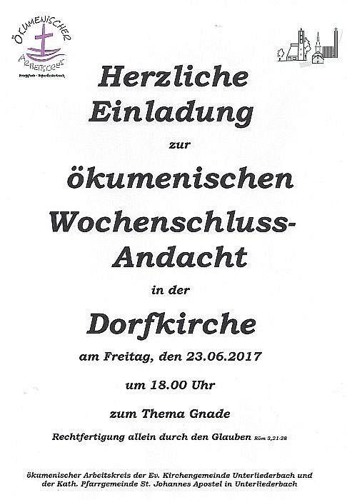 20170623_Ökum. Wochenandacht