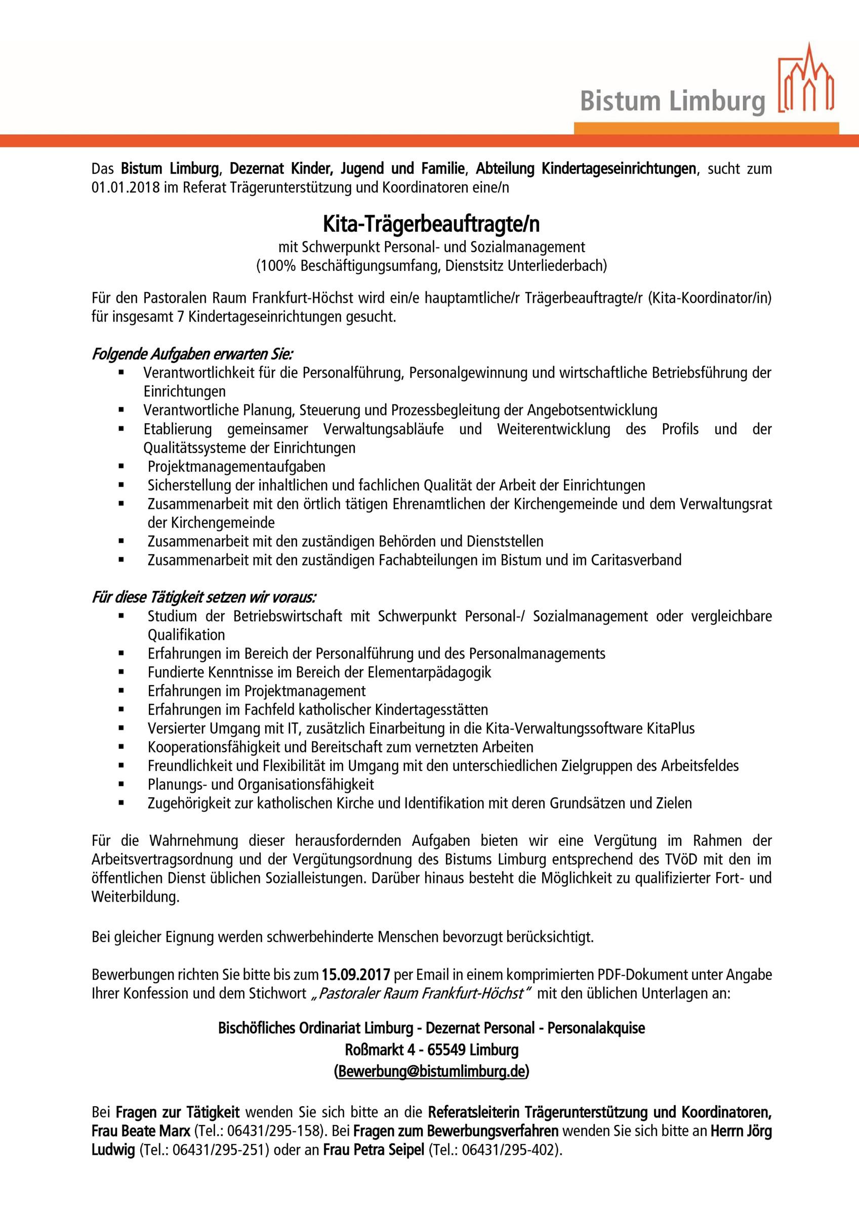 20170814_Kita-TraegerbeauftragteR_Pastoraler_Raum_Hoechst