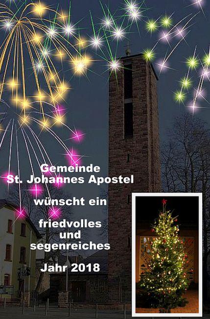 Frohes und gesegnetes neues Jahr – St. Johannes Apostel